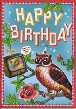 Uta K Happy Birthday Owl
