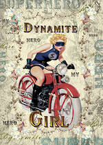 Tres Chic Dynamite Girl