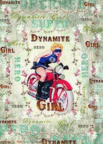 Sheet Wrap Dynamite Girl