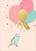 Louise Tiler Animals Budgie