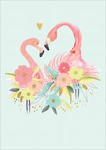 Louise Tiler Animals: Flamingoes
