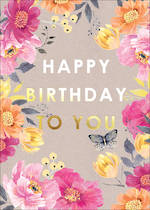 Louise Tiler Floral: Happy Birthday