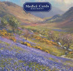 Medici Small Square Bank Of Bluebells