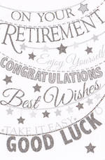 Retirement Card Pizazz On Your Retirement