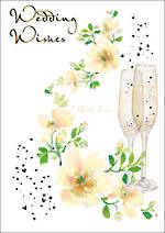 Mini Card Pizazz Wedding Champagne