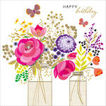 Carnival Birthday Flower Vases
