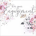 Engagement Card Pizazz Hallmark Square