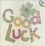 Good Luck Card Stitch