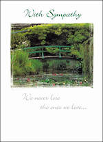 Sympathy Card Special Occasions Bridge