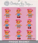 CVD Magnets Cupie Dolls