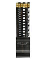 Alice Scott Pack of 6 Pencils