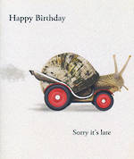 Belated Birthday Card: W12 Snail Mail