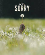Sorry Card Darkroom Dandelion