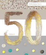 Birthday Age Card 50 General Paper Gallery