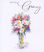 Grandmother Birthday Card Elgin Court Granny Vase
