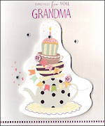 Grandmother Birthday Card Paper Gallery For You Grandma