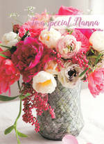 Grandmother Birthday Card Beautiful Blossoms Nanna