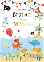 Brother Birthday Card Paper Gallery Island
