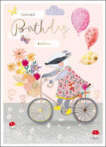 Zinnia Infant Birthday Bicycle