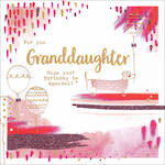 Grandaughter Birthday Card Paper Gallery Square