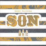 Son Birthday Card Paper Gallery