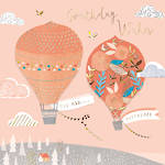 Zinnia Birthday Hot Air Balloons
