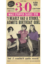Birthday Age Card 30 Female Fleet Street Tall