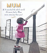 Mum Birthday Card Love Unlimited Telescope