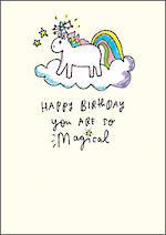 Happy News Birthday Unicorn