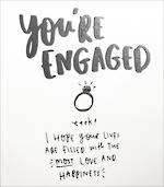 Engagement Card Happy News