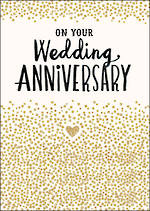 Anniversary Card Your Bijou on Wedding