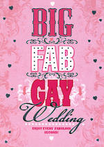 Same Sex Wedding Card Balderdash Big Fab Gay