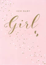 Baby Card Apollo Baby Girl