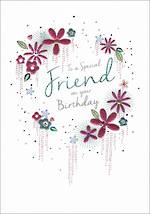 Birthday Card Female Amaretto Special Friend