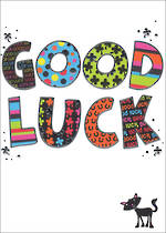 Good Luck Card Bangers & Flash