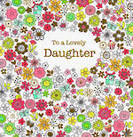 Daughter Birthday Card: Glitsy