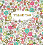 Thank You Card Glitsy