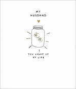 Husband Birthday Card Very Tweet Light Life