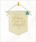 New Home Card Willow Heart