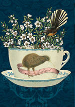 Pure NZ Botany Kiwi Teacup