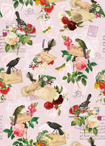 Sheet Wrap New Zealand Birds & Stamps