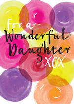 Daughter Birthday Card: For A Wonderful