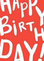 Birthday Card Male Happy Birthday Text