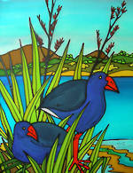 Pure NZ Jo May Pukeko Scene
