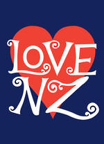 Pure NZ National Pride Love NZ