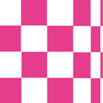 Napkins: Paper Products - Lunch Pop Squares Hot Pink