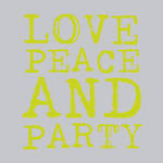 Napkins: Paper Products - Lunch Love & Party Lime