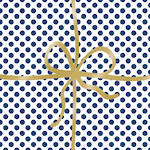 Lunch Napkins Paper Products Cadeaux Deluxe Dot Blue