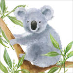 Lunch Napkins Paper Products Tropical Koala Bear
