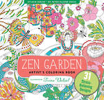 Artist Colouring Book Zen Garden